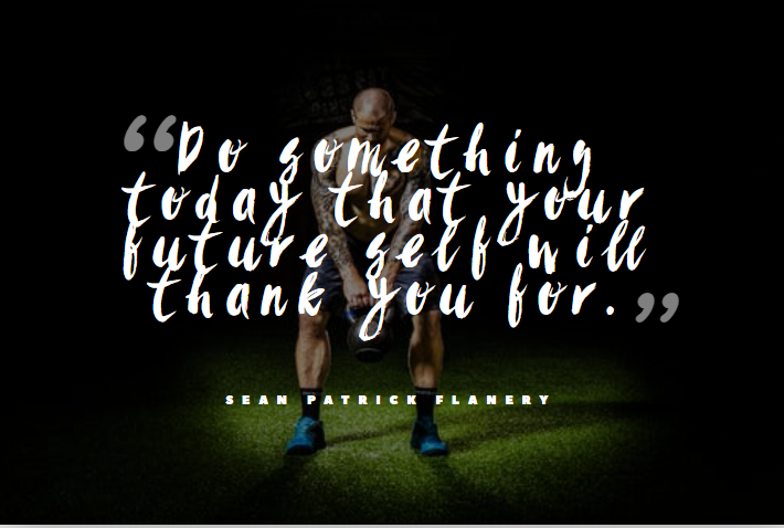Fitness Quote by Sean Patrick Flanery
