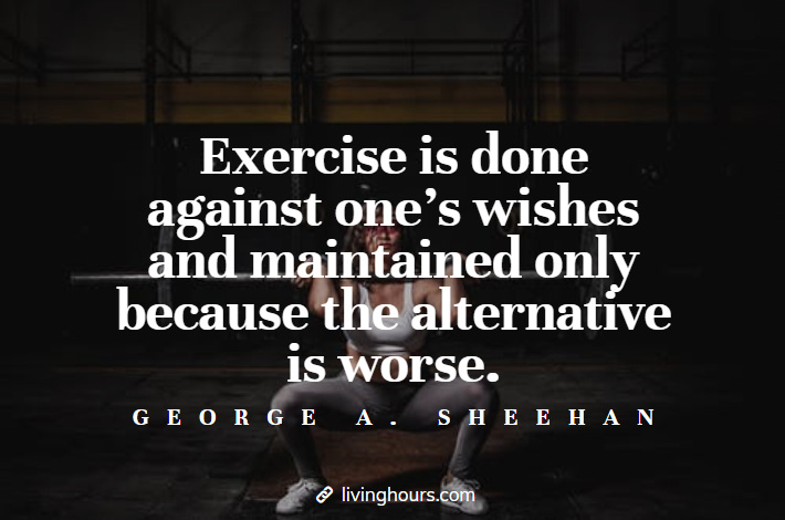 Fitness Quote by George A. Sheeman