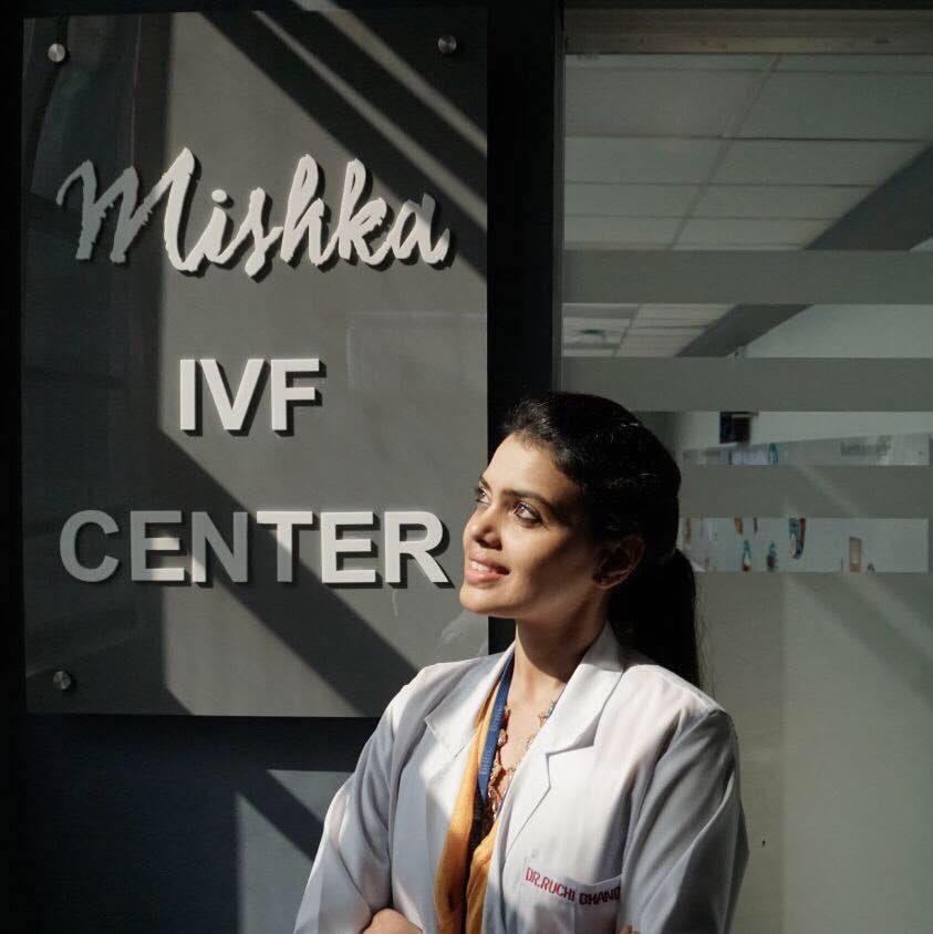 cosmetic gynecologists  Dr. Ruchi Bhandari at Mishka IVF center