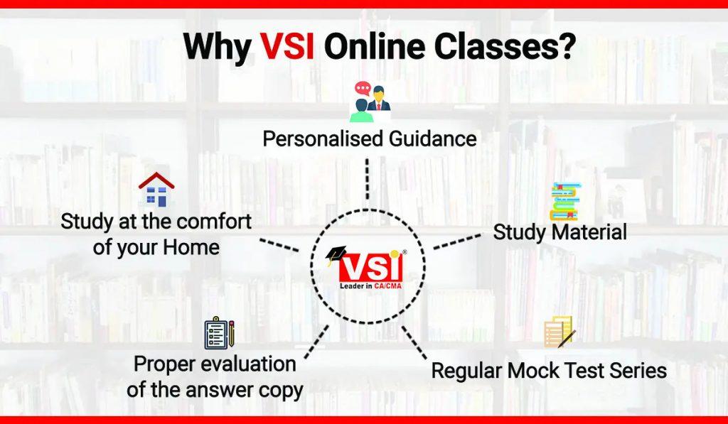 VSI Jaipur- best institute for CA Online classes