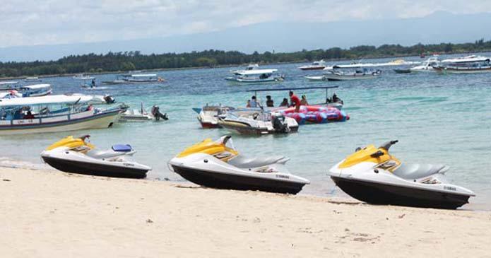 Water Sports At Tanjung Beach