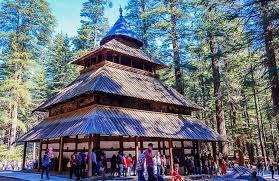 We visit to Hidimba temple, Manu temple, Vashisht kund , in Shimla Manali trip with roaming routes