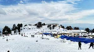 Kufri for snow activities-Shimla manali tour package