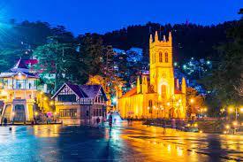 mall road in Shimla-Shimla manali trip -Roaming routes