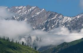 most beautiful views of water and mountains together at Shimla Manali honeymoon package-roaming routes