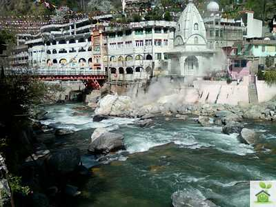 Temple in manikarna- Shimla manali tour package