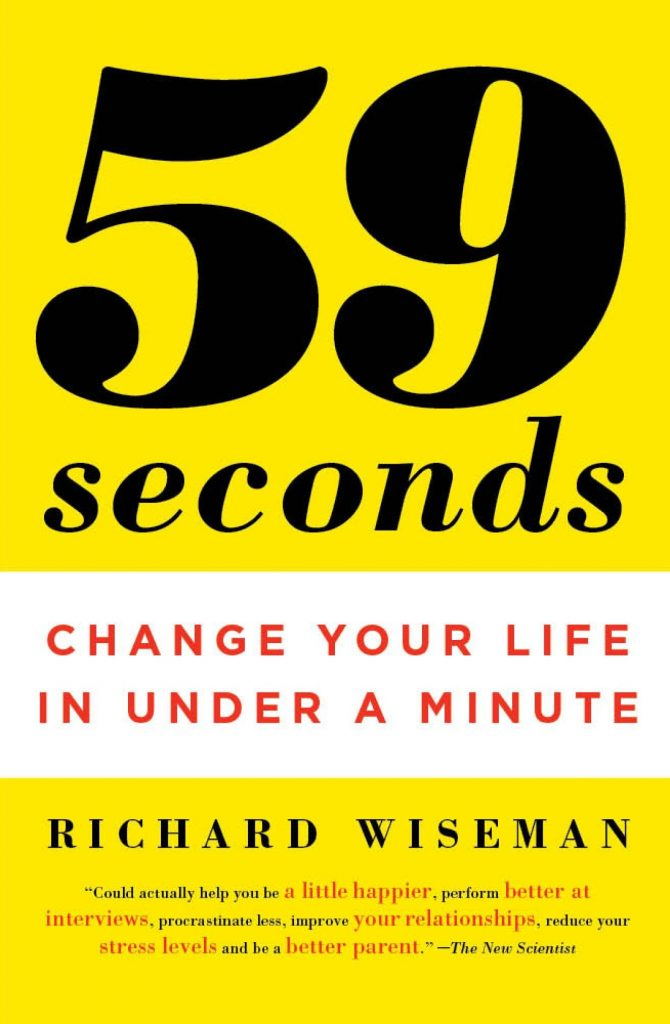 59 seconds is the best inspiring book to read.