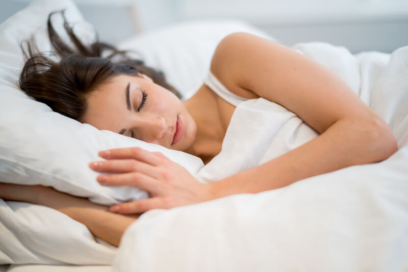 Get beauty sleep to shine on your face