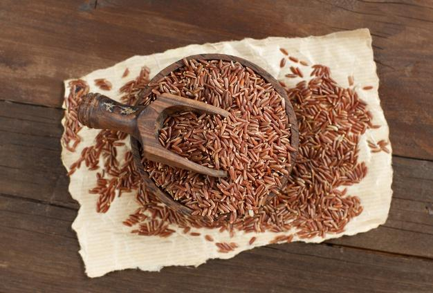 Brown rice is low in fats and high in nutrients