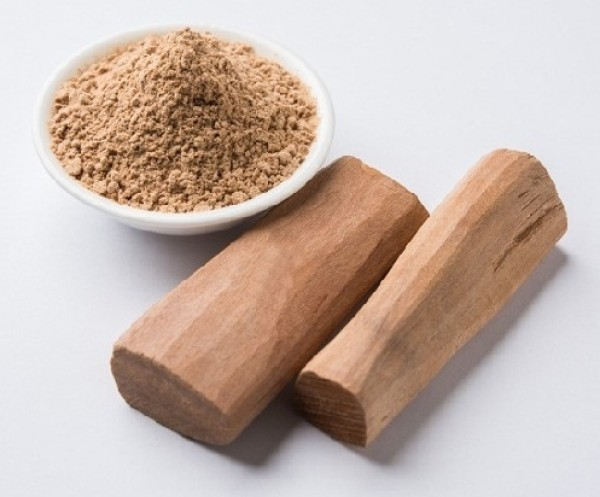 Sandalwood powder is natural remedy to glow your skin.