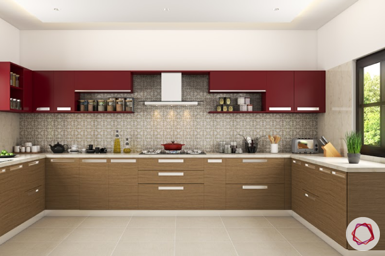 Contrast touch to your kitchen