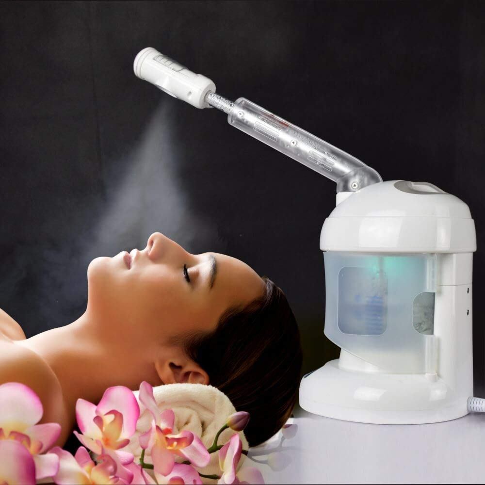 facial steam increase the quality texture of your skin