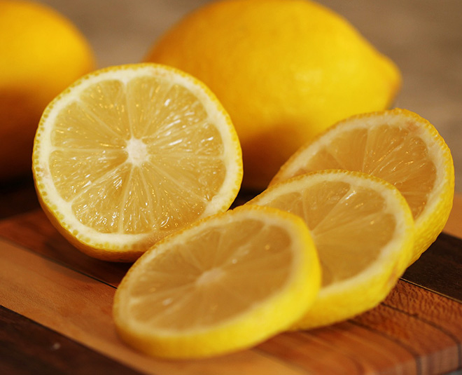 Lemon clears skin problems and also helps to reduce fat