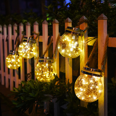 Decorate your garden with string lights