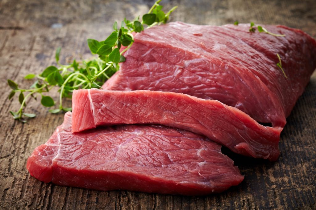 red meat for weight gain