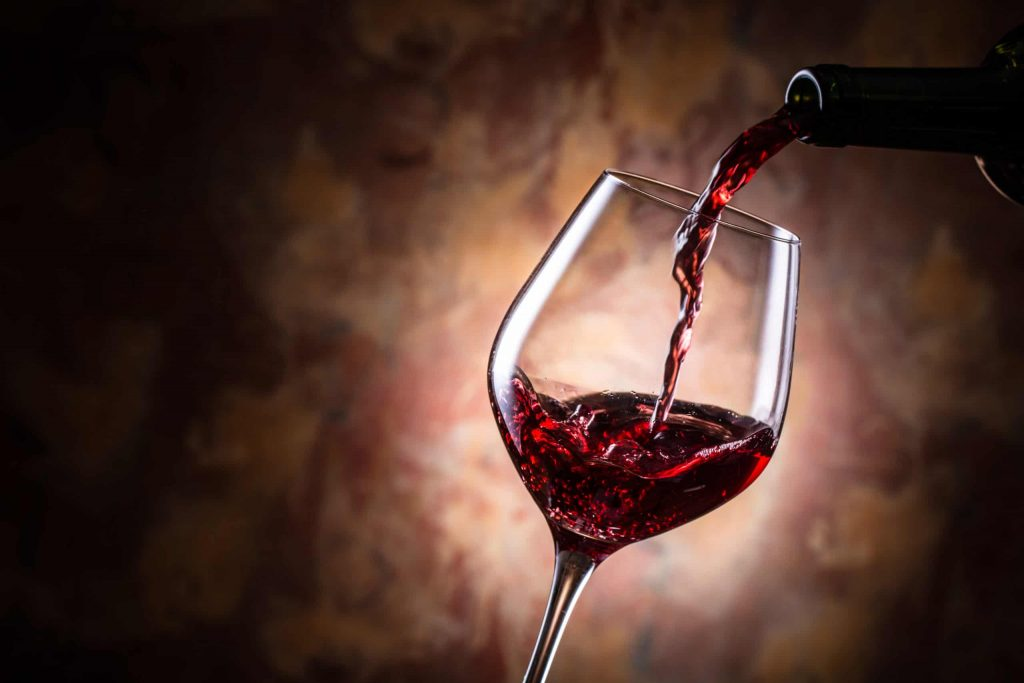 Red wine helps in glowing skin as well as it reduces belly fat also.