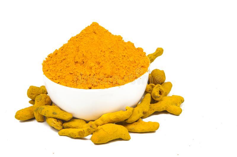 Turmeric powder for body pain remedy.