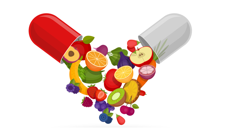 Eat vitamins