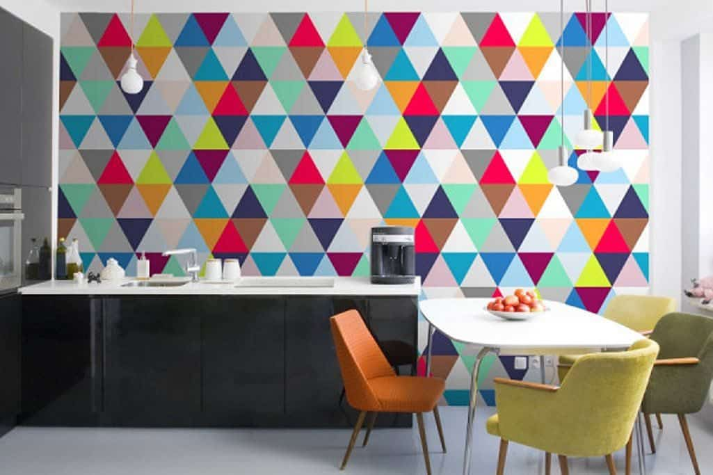 Wallpaper for interior designs for kitchens